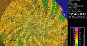 У небі над Мексикою з'явилася величезна воронка у вигляді кольорової спіралі