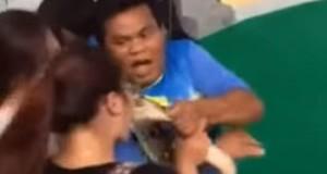 У Таїланді пітон вкусив туристку за ніс