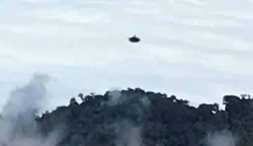 НЛО виходить з кратера вулкана в Коста-Ріці, лютий 2016