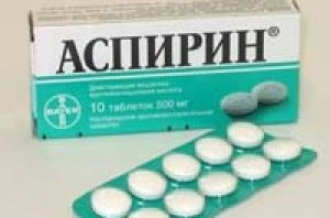 Аспірин: користь і протипоказання