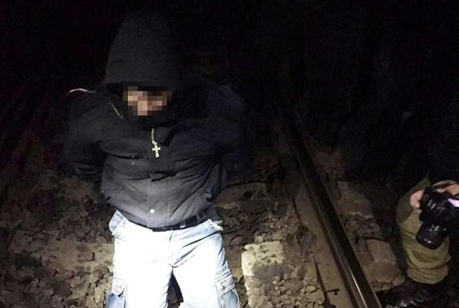 Колишній міліціонер хотів підірвати поїзд Одеса-Костянтинівка