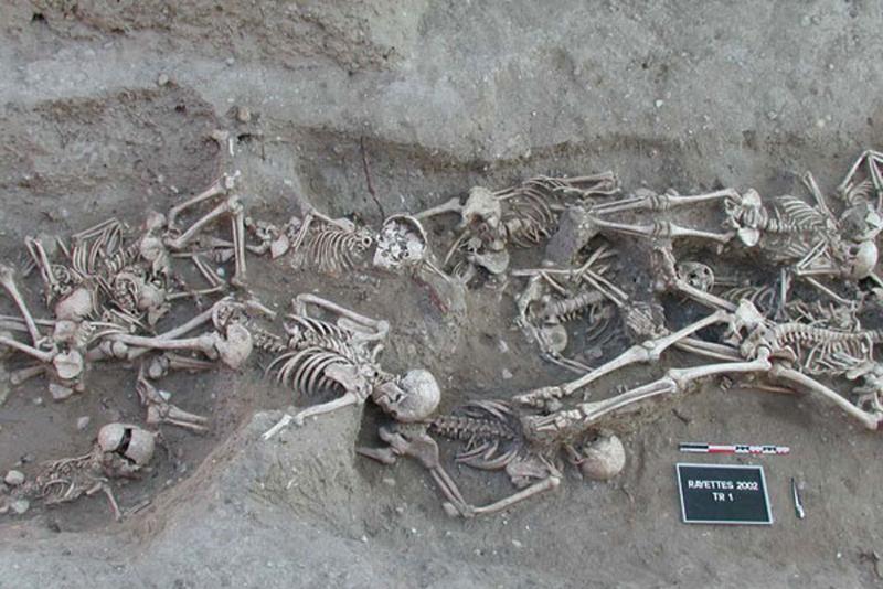 Останки жертв чуми Марсельської